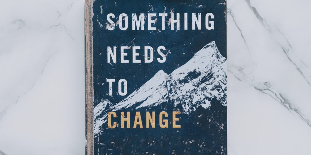 Something needs to change book